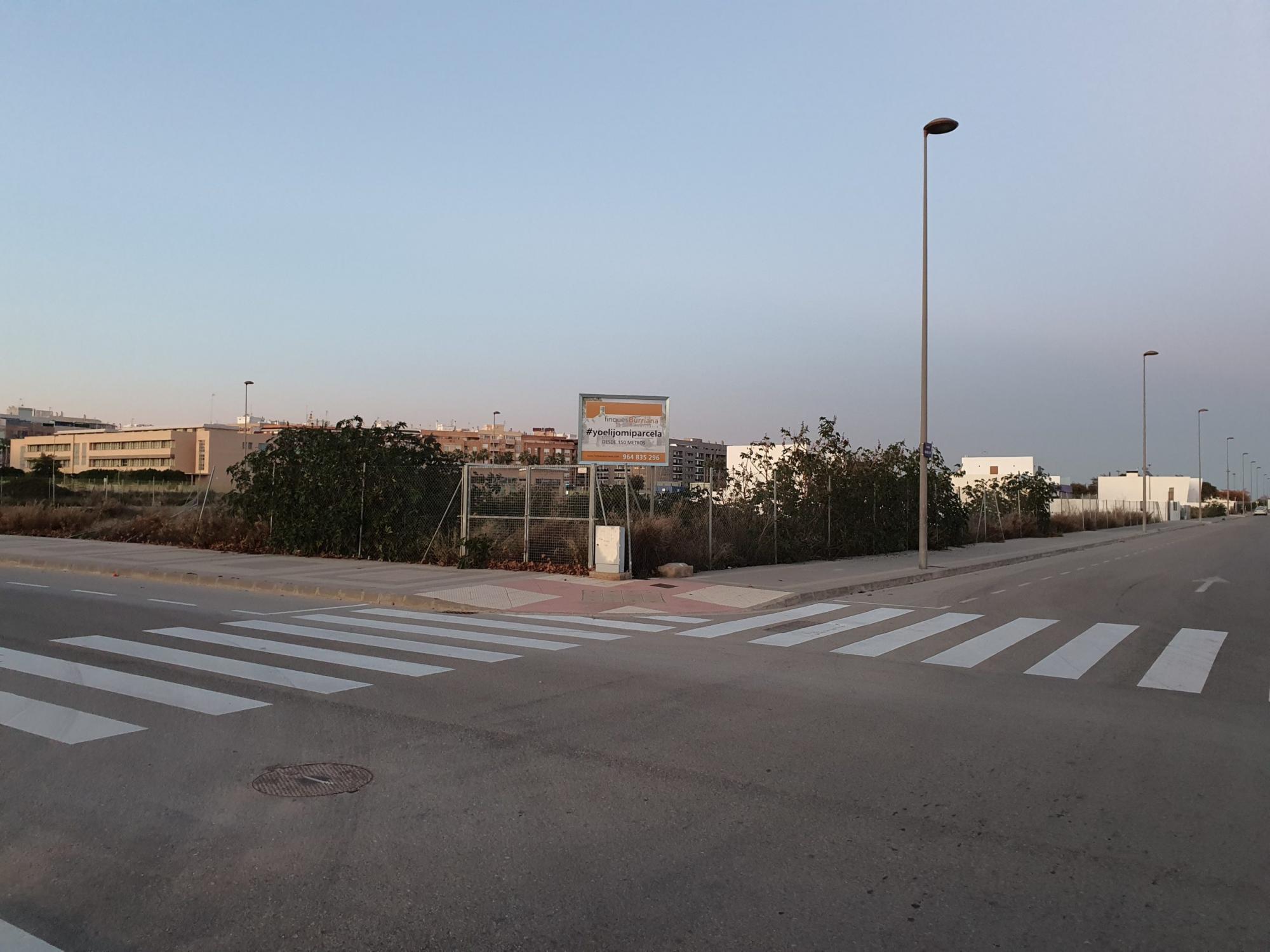 Parcelas en Novenes de Calatrava en Burriana (Castellón) ¡Elige tu parcela!
