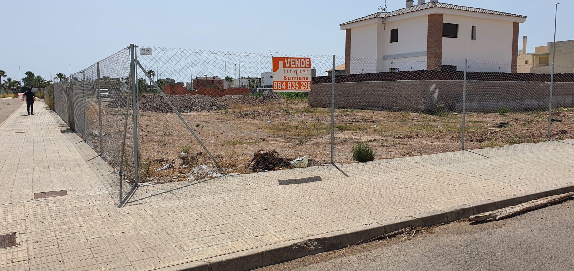 Parcelas Situadas Zona Puerto de Burriana desde 300m²